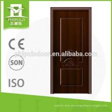 Nuevo diseño de lujo melamina puerta interior
