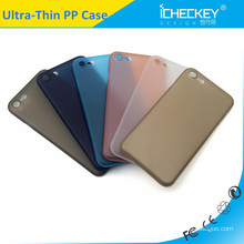 For iphone7 Anti-fingerprinting Ultra Slim Colorful PP Case Cover Factory Price For I7 Case Cover