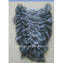 Les dernières écharpes élastiques élastiques à la mode