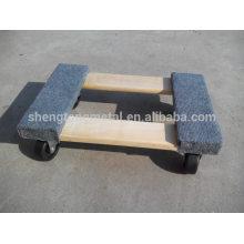 18 * 12,25 pouces chariots pour le déplacement de meubles 1000 lbs