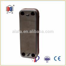 Soldadas intercambiador de calor, intercambiador de calor para sistema de calefacción de agua solar