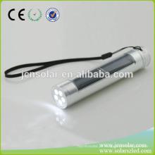 Solar Power Lanterna led recarregável solar powered luz piscando piscando