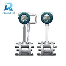 vortex screw connection flowmeter