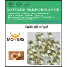 Gélule d'huile d'ail certifiée par GMP d'OEM
