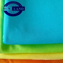 Tissu microfibre à tricoter 100% polyester pour vêtement