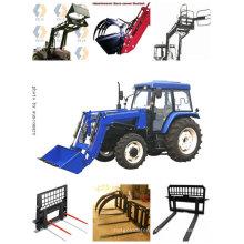 Cargador combinado de tractor