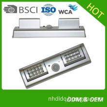 Hot selling light sensor wall clock for wholesales