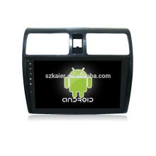 """Usine directement! 10,1 """"tactile complet sans lecteur de dvd + dvd de voiture android pour Suzuki swift + OEM + quad core!"""