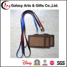 Personalizada de cordones de Nylon en blanco con insignia de encargo de titular de la tarjeta de identificación