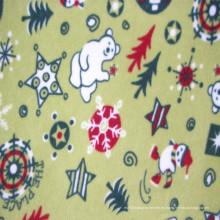 Tejido de lana polar para hacer la manta de los niños