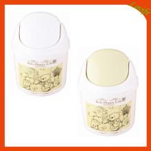 Plástico encantador cubeta de almacenamiento impreso (ff-5012-2)