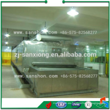 Sanshon SSD túnel de verduras y frutas máquina de congelación rápida