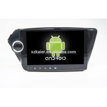 Glonass / GPS Android 4.4 lecteur DVD de voiture pour kia K5 miroir-lien TPMS DVR avec GPS / BT / TV / 3G