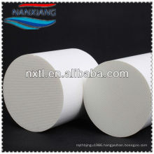 honeycomb ceramic catalyst support DPF used for car exhaust gas purifier,Elliptic Cordierite Honeycomb Ceramic