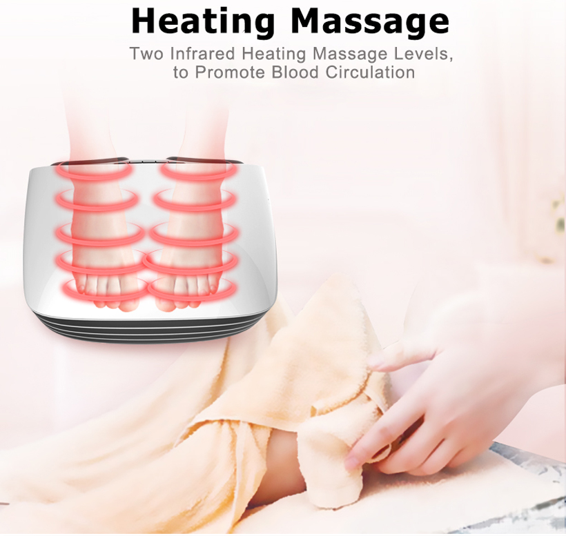 Foot Massager With Switchable Heat