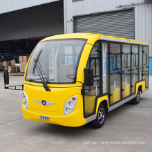 11 Seater Battery Powered Intelligent Pulse Charger Classic Shuttle Electric Sightseeing Tourist Car for Tourist with Ce