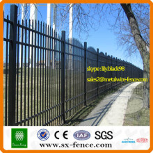 DECORATIVE PERIMETER ALUMINUM FENCING