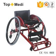 Cadeira de rodas esportiva com estrutura de alumínio defensiva de rugby