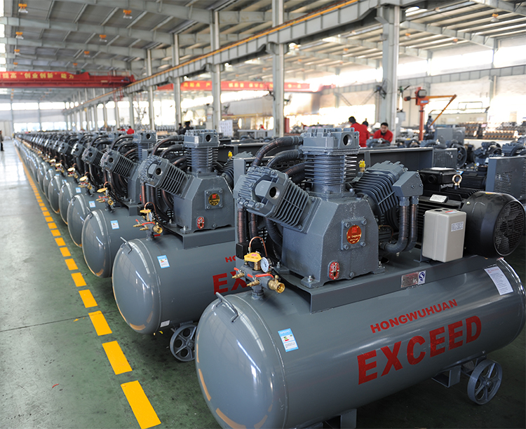 hongwuhuan portable air compressor workshop
