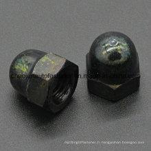 Écrou en caoutchouc en acier au carbone en acier hexadécimal (CZ091)