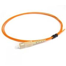Indoor / outdoor com conector de fibra ótica pigtail, om3 sc fibra ótica pigtail