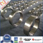 GR2 Elevadas propriedades mecânicas titânio forjado anel