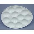Porcelain Egg Plate (CY-P12548)