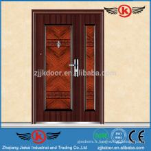 JK-S9058 Porte mère et fils chaude / Porte extérieure décorative extérieure en acier