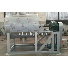 Satu Shaft Vacuum Harrow Hollow Paddle Dryer untuk Industri Kimia