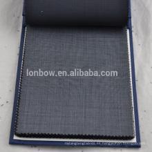 Traje de lana de manga larga de encargo de la empresa informal de tela de la empresa