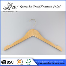 Cheaper Kids Wood Hanger Custom Branded Wooden Hangers