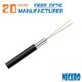 Suministro de fábrica de fibra óptica FTTH 2core monomodo cable de bajada