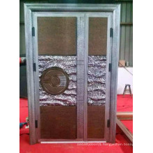 Copper and Aluminium and Wooden Door