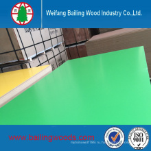 Зеленый цвет меламин МДФ 18мм