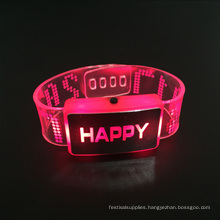 New Year 2017 Happy Led Bracelet Wedding Favors