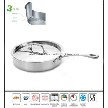 3 Ply Stainless Steel Frypan Sauce Pan