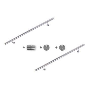 Wall Mounted 304ss Stainless Steel Hospital Handrail