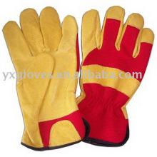 Leder-Gartenhandschuh-Handschuh-Billighandschuh-Arbeitshandschuh-Sicherheitshandschuh
