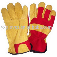 Кожа Сад Перчатки Руки Перчатки Дешевые Перчатки Работая Перчатка Безопасности Перчаток