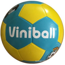 Two Colors Blue Yellow Rubber Football Sports