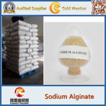 Alginate do sódio do produto comestível com pureza alta CAS