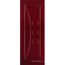 Flache MDF-Tür mit Furnier (MD02)
