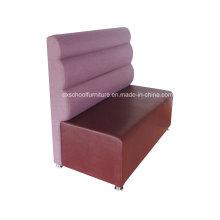 Sofa de bureau de sofa de cabine de dos de couleur pourpre de tissu extérieur (CA323)