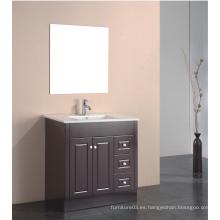 Muebles de Mdfbathroom de la venta caliente con el gabinete del espejo