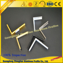 Profil d'aluminium d'extrusion pour le cadre en aluminium de cadre de cadre