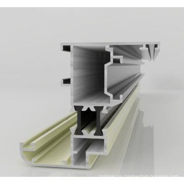 Сломанный мост Алюминиевая оконная дверь Алюминиевый профиль для Sound Insulaiton