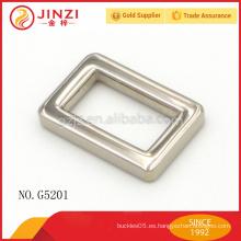 China proveedor níquel color reversible cinturón hebilla