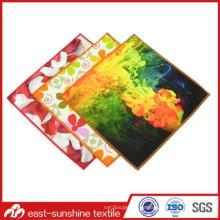 Paño de limpieza de la joyería de la impresión del cuadro del color a todo color