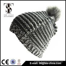 Bester Verkauf preiswerter Großhandels100% Acrylbeanie-Hüte