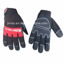 Aufbau-voller Finger, der mechanischen Sicherheits-Handschutz-Handschuh bearbeitet
